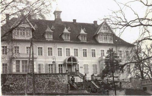 Obiekt pałacowy po wyremontowaniu w 1977 r.